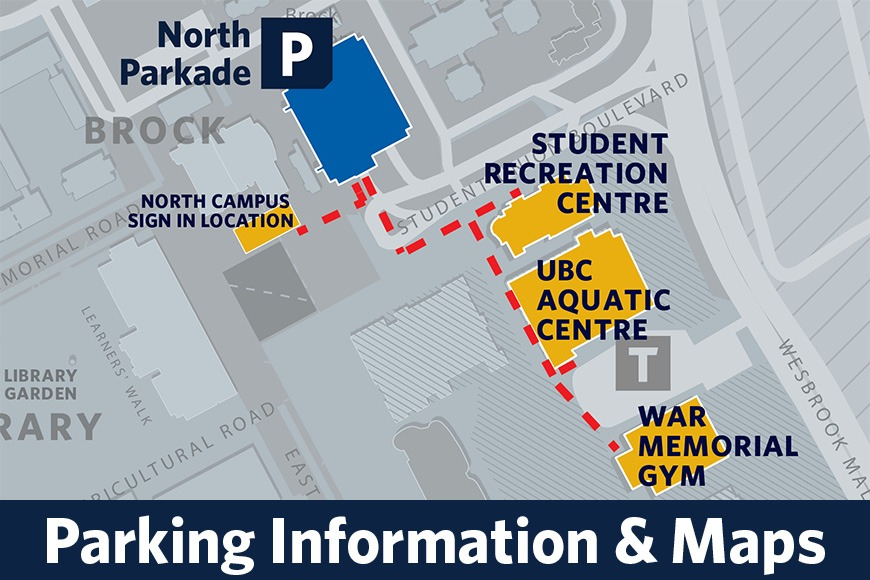 UBC Camps Parking Information and Maps
