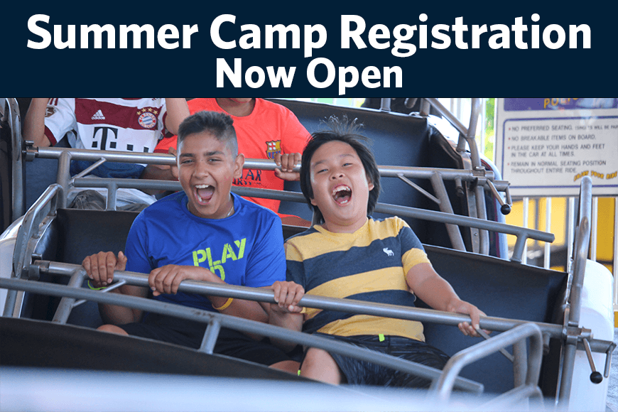 Summer Camp Reg Now Open