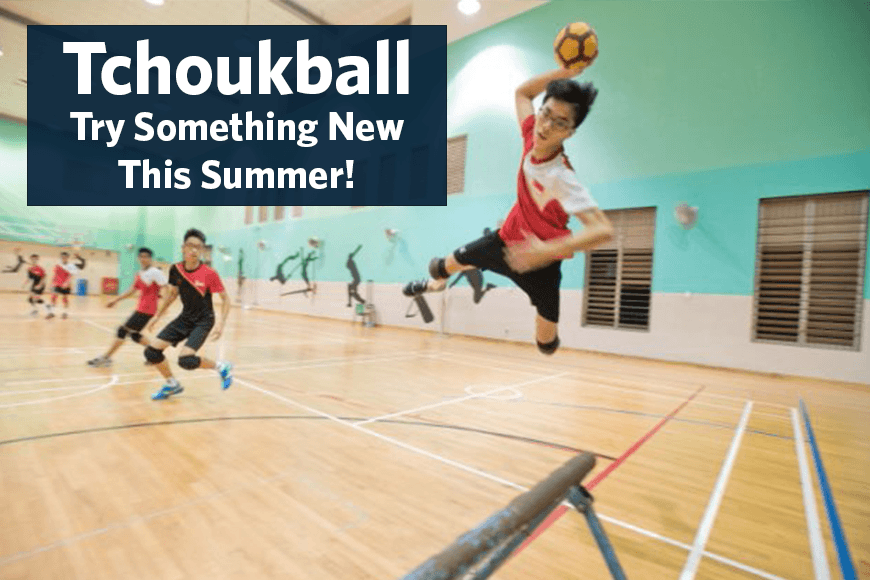 Tchoukball New This Summer