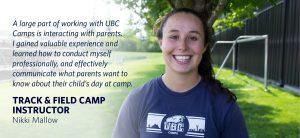 My Experience with UBC Camps: Nikki Mallow